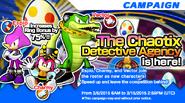 Sonic Runners Chaotix Event