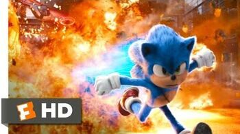 Sonic the Hedgehog (2020) - Racing Robotnik Through the Rings Scene (9 10) Movieclips