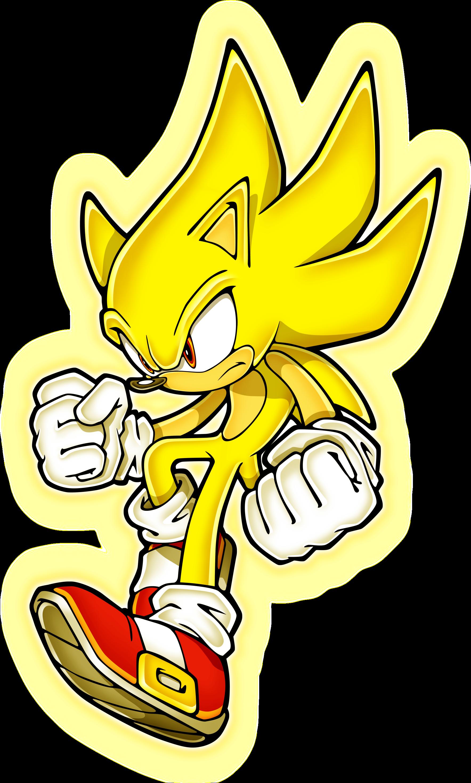 Imagen  Super sonic con aurapng  Sonic Wiki  FANDOM powered by