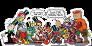 The 1st annual eggman robotnik parade of sidekicks
