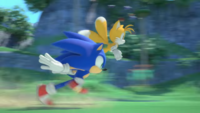 SC Tails and Sonic