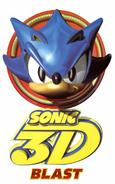 Sonic 3D Blast digital logo