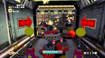 Sonic Adventure 2 (PS3) Iron Gate Mission 5 A Rank