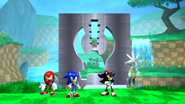 Sonic Rivals intro