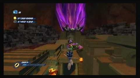 Sonic Unleashed (Wii) - Dark Gaia (Last Boss)