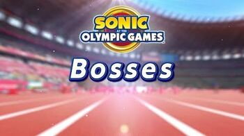 Sonic at the Olympic Games - Tokyo 2020 ¦ Bosses Preview