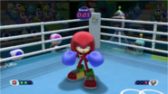 Mario & Sonic at the Rio 2016 Olympic Games - Knuckles Boxing