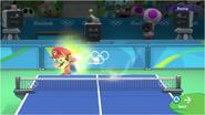 Mario & Sonic at the Rio 2016 Olympic Games - Mario Table Tennis