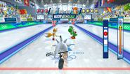 Mario Sonic Olympic Winter Games Gameplay 117