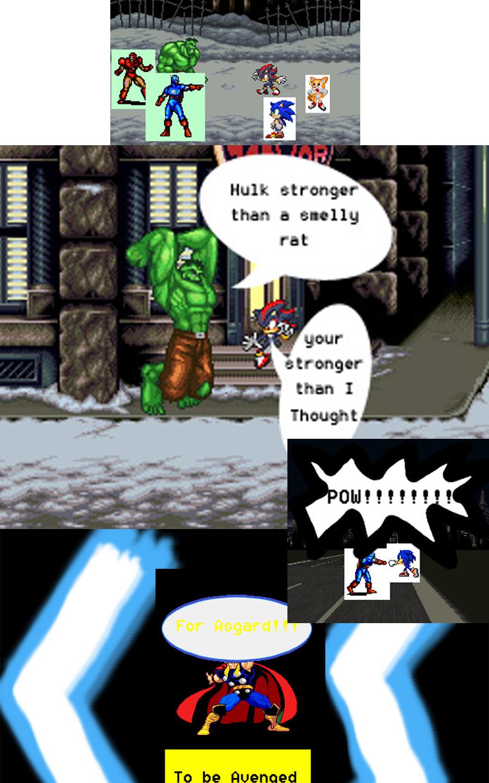 Marvel vs Sega