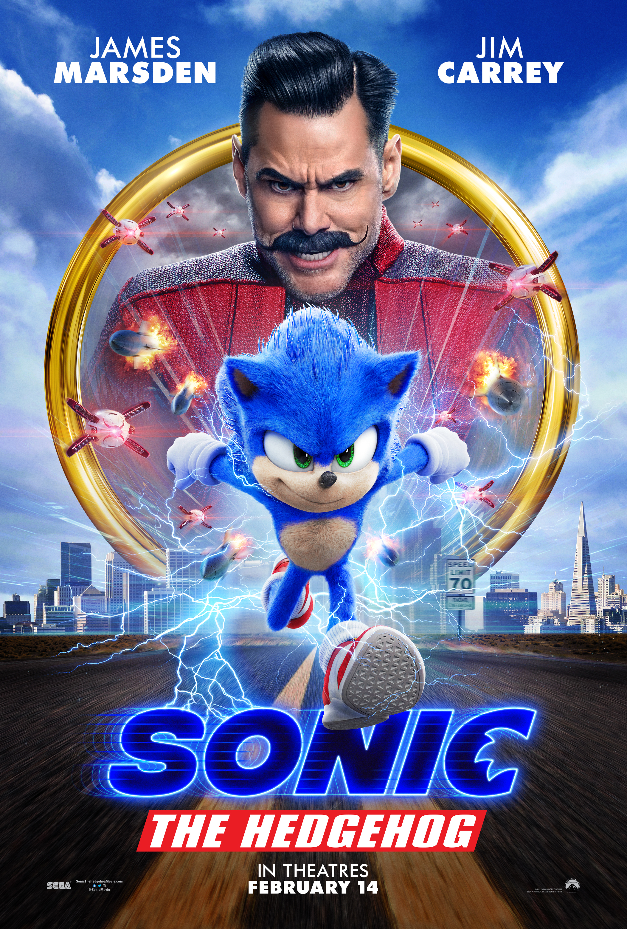 sonic the hedgehog movie characters