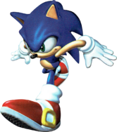 SA Sonic 3D art 2