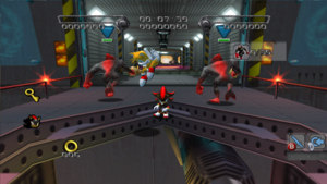Shadow the Hedgehog Empty Dark Gauges