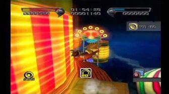 Shadow the Hedgehog Stage 3-3 Circus Park (Hero Mission no com)