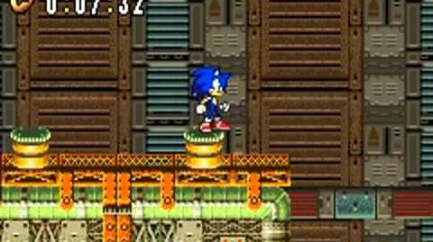 Sonic Advance (GBA) Hidden Base Zone