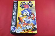 Sonic R Display Box