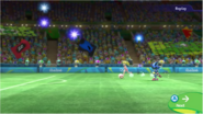 Mario & Sonic at the Rio 2016 Olympic Games - Princess Peach and Metal Sonic Football