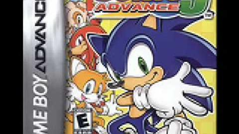Sonic Advance 3 - Cyber Track - (Map)