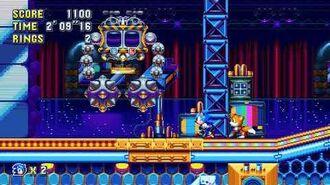 """Sonic Mania PC - Unused Boss """"EggJanken"""" or Janken Capsule - Full Boss Fight!"""