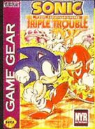 Triple Trouble early US box cover