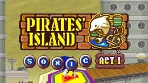 ᴴᴰ DesMuMe - Sonic Rush Adventure Pirate's Island, Sonic - Act 1