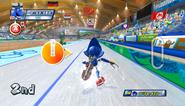 Mario Sonic Olympic Winter Games Gameplay 053