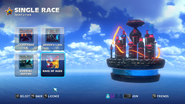 Race of Ages menu