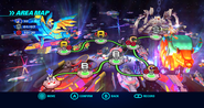 Starlight Carnival Wii mapa