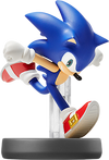 SSB4 Amiibo Sonic