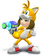 Smash4 MiiGunner Outfit Tails