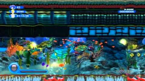 Sonic Colors - Aquarium Park Act 6 HD