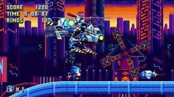 Sonic Mania Boss 5 - Heavy Gunner