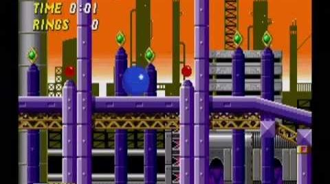 Sonic the Hedgehog 2 Oil Ocean Act 1