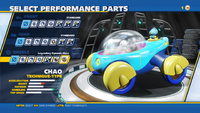 Chao Legendary Dynamic Discs Wheels