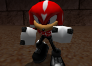 SA2 Knuckles DC Outfit