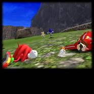 Sonic Adventure Credits (Super Sonic 01)