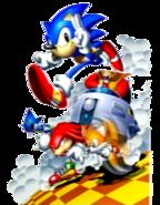 Sonic R proto title art