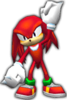 Sonic Rivals 2 - Knuckles the Echidna model