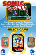 Sonic Classic Collection Menu 2