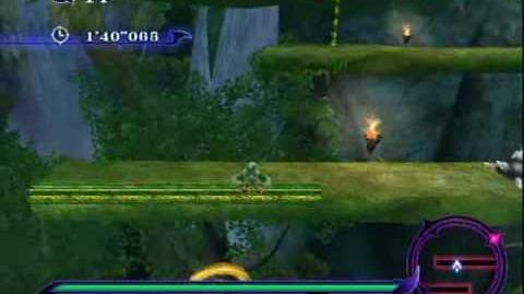 Sonic Unleashed (Wii) - Adabat Night Stage 3 Deep Jungle