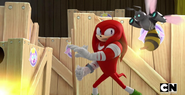 Knuckles and Bee Bot