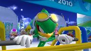Mario & Sonic 2010 - Rival Intro - Jet