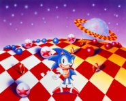 Sonic 3 Merch art