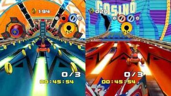 Sonic Heroes - Casino Course
