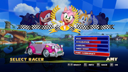 Sonic and Sega All Stars Racing character select 19