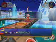 Speederald in-game