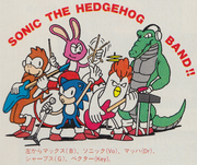 StH Sonic the Hedgehog Band