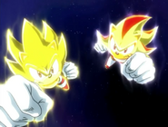 Super Sonic i Super Shadow attack ep 38