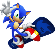 Winter Olympics Sonic 3