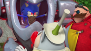 Evil Sonic Mayor Fink and Eggman